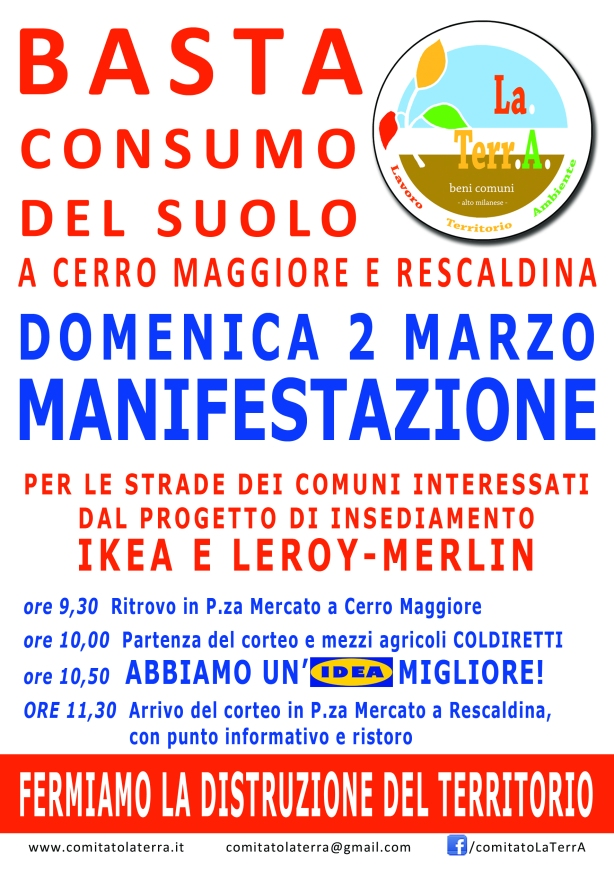 Comitato LaTerrA_Volantino Manifestazione_Fronte