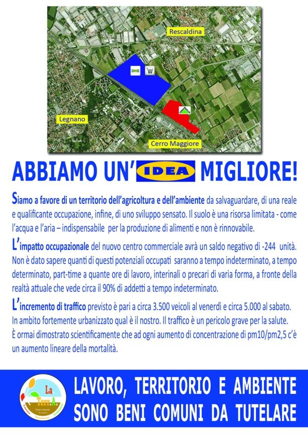 Comitato LaTerrA_Volantino Manifestazione_Retro