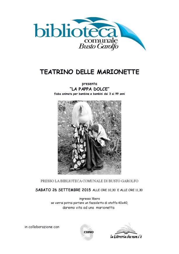 La Pappa Dolce Teatrino Delle Marionette Associazione Culturale La